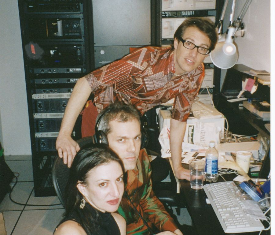Myself and Kevin Centanni in the Control Room -- circa 2000.