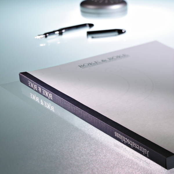 Foil printed instant book.