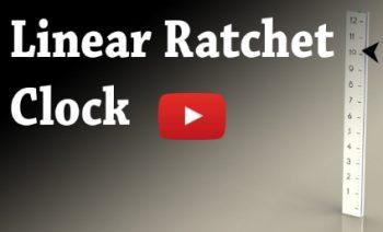 Linear Ratchet Clock