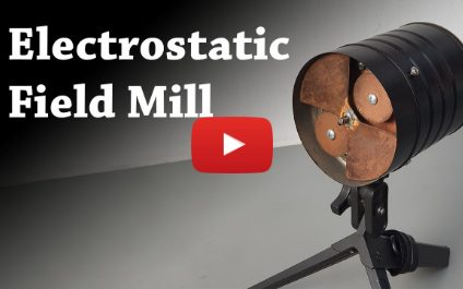 Electrostatic Field Mill Voltmeter Project