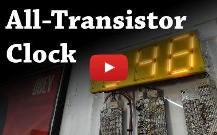 All Transistor Clock