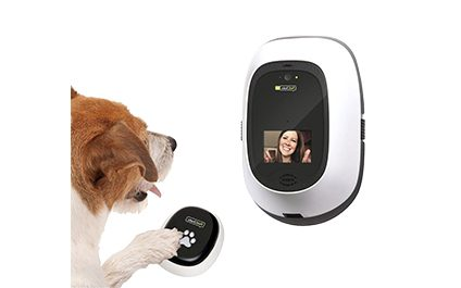SHINY NEW GADGET OF THE MONTH: PetChatz HD Pawcall FaceTime With Your Dog!