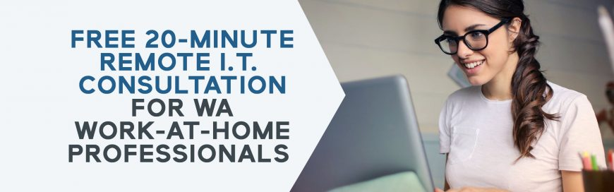Free 20-Minute IT Consultation for Work-At-Home Professionals
