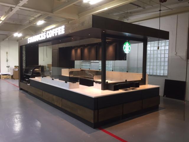 Target Starbucks Kiosk