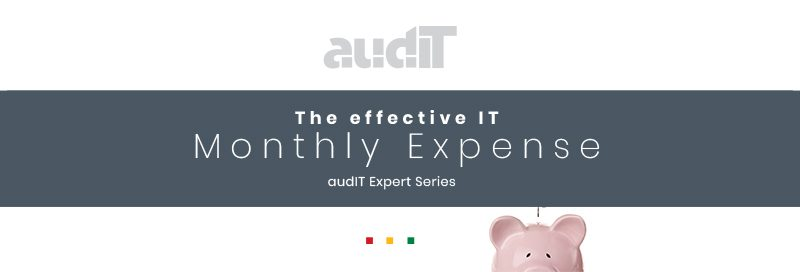 Effective IT Monthly Expense – audIT Expert Series