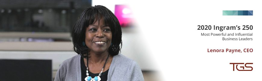 Lenora Payne Named One of Ingram's 250 Most Influential Business Leaders for 2020