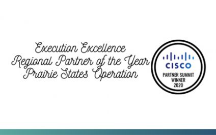 TGS recognized as Cisco Execution Excellence Regional Partner of the Year: Prairie States Operation