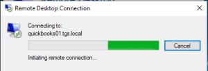 Quickbooks Remote Desktop Loading