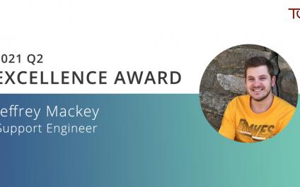 Jeffrey Mackey Named TGS Q2 Excellence Award Winner