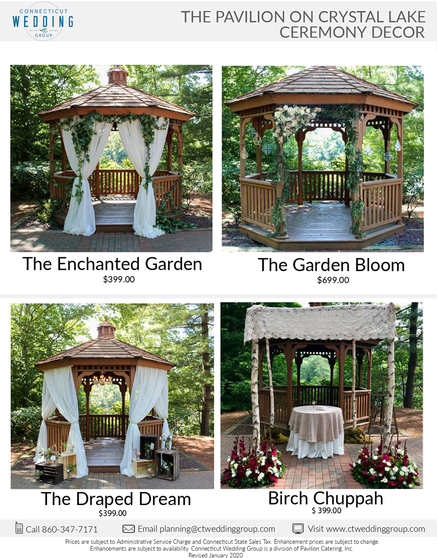 Pavilion-on-Crystal-Lake-Ceremony-Decor-Packages