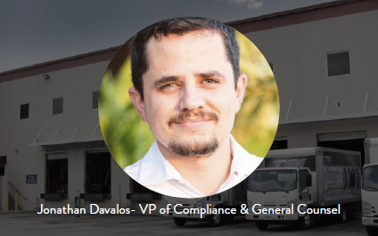 NOTES FROM V.P. OF COMPLIANCE & GENERAL COUNSEL