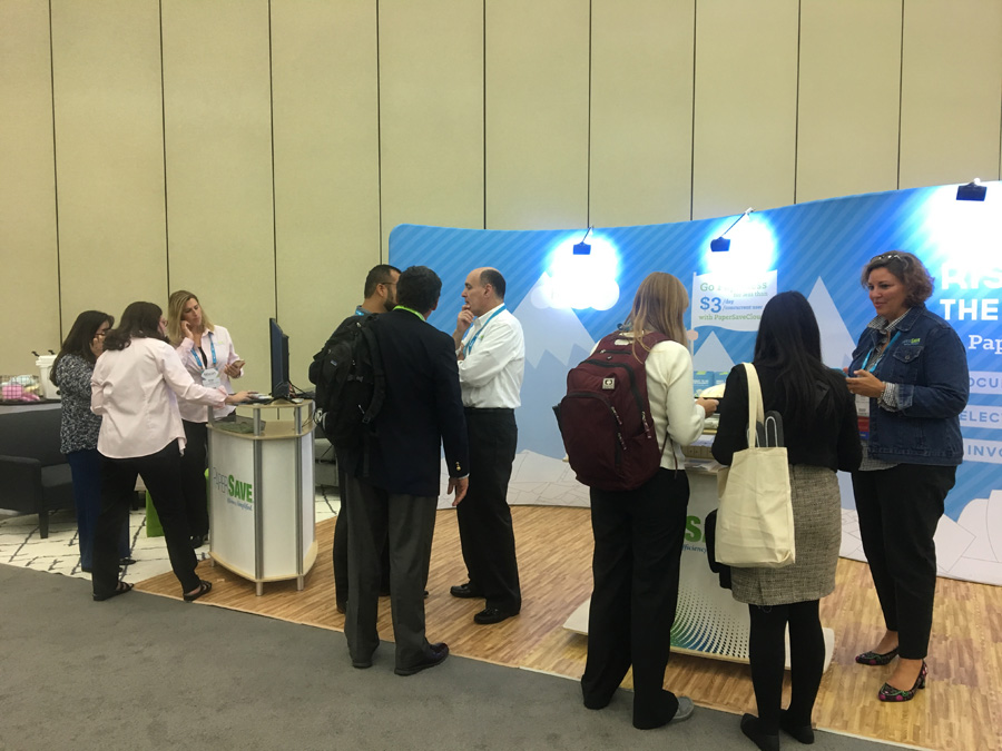 The team busy at bbcon 2017!