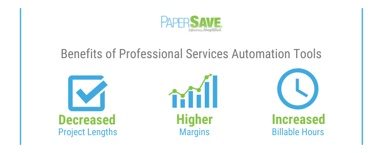 Benefits of professional services automation tools