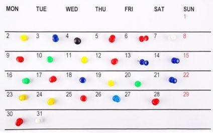 Setting a schedule when digitizing