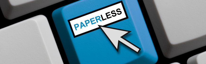 5 Ways paperless solutions improve your business's reputation