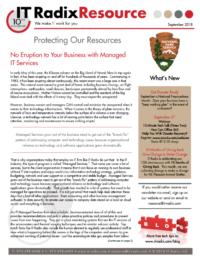 September 2018 IT Radix Resource Newsletter