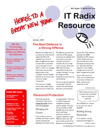 Winter 2009 IT Radix Resource Newsletter