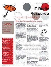 Spring 2010 IT Radix Resource Newsletter