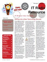Winter 2010 IT Radix Resource Newsletter