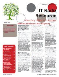 Spring 2012 IT Radix Resource Newsletter