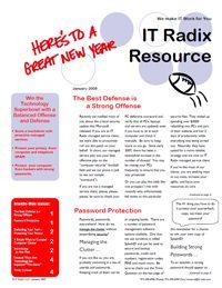Winter 2009 IT Radix Resource Newsletter