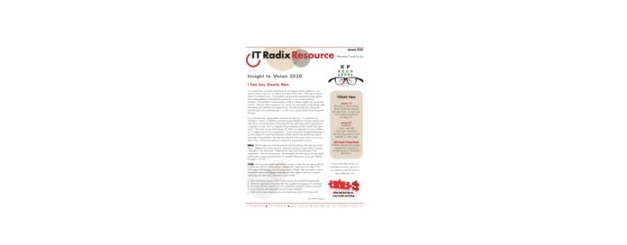 January 2020 IT Radix Resource Newsletter
