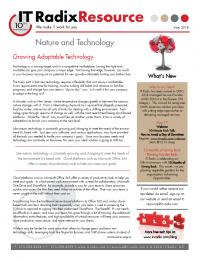 May 2018 IT Radix Resource Newsletter