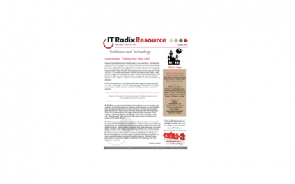October 2019 IT Radix Resource Newsletter