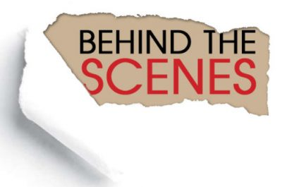What You Don't See Behind the Scenes