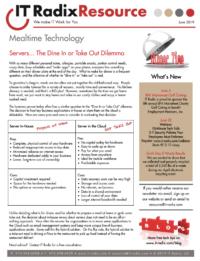 June 2019 IT Radix Resource Newsletter