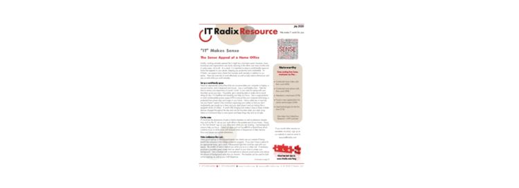 July 2020 IT Radix Resource Newsletter