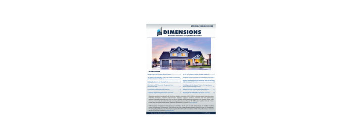 IT Radix Published in NJBA Dimensions Newsletter (Spring/Summer 2020)