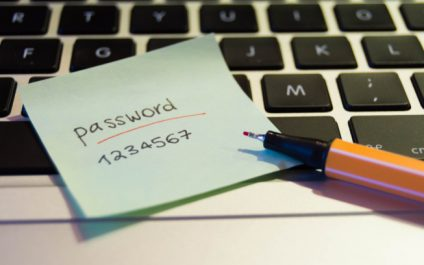 Keep Passwords Out of Sight