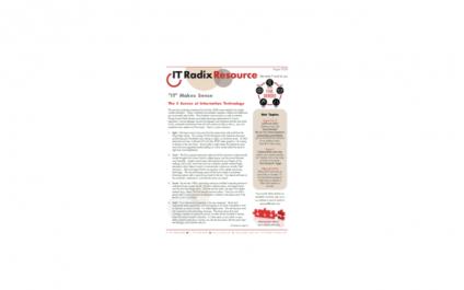 August 2020 IT Radix Resource Newsletter