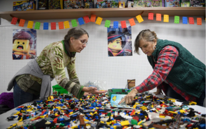 Stressed-Out Adults Are Having Fun with LEGOS
