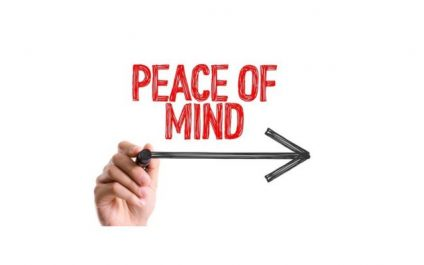Out of Sight, Peace of Mind!