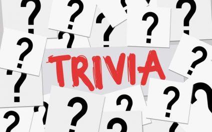 October 2020 Trivia Challenge
