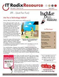 March 2015 IT Radix Resource Newsletter