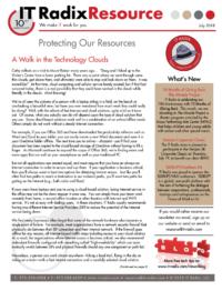 July 2018 IT Radix Resource Newsletter