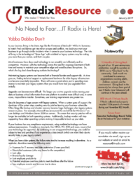 January 2019 IT Radix Resource Newsletter