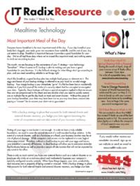 April 2019 IT Radix Resource Newsletter