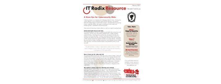 February 2021 IT Radix Resource Newsletter