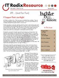 January 2015 IT Radix Resource Newsletter