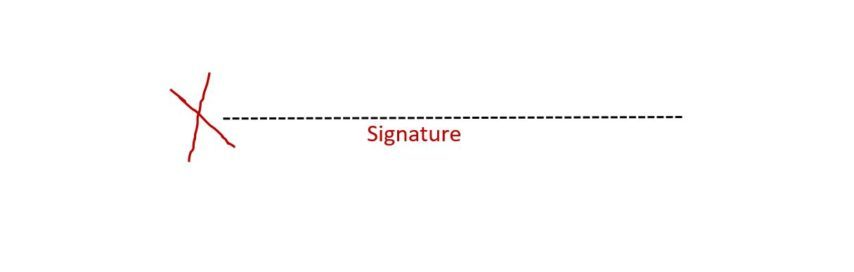 Sign on the Dotted Line