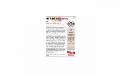 July 2021 IT Radix Resource Newsletter
