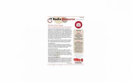 August 2021 IT Radix Resource Newsletter
