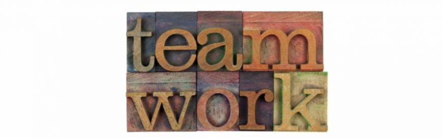 We Work as a Team