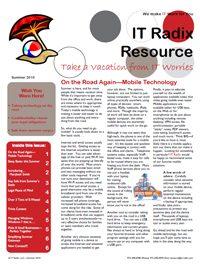Summer 2010 IT Radix Resource Newsletter