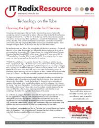 March 2016 IT Radix Resource Newsletter