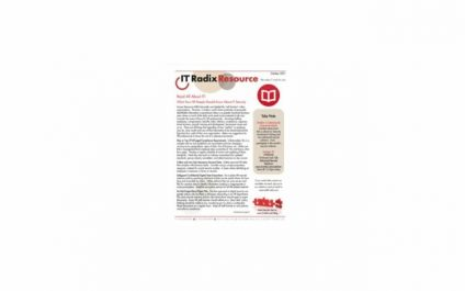 October 2021 IT Radix Resource Newsletter